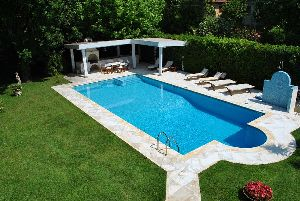 swimming pool  villas real estate sale