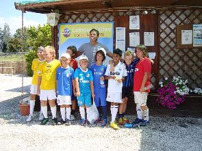 Courses for children - football