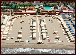 Versilia beach