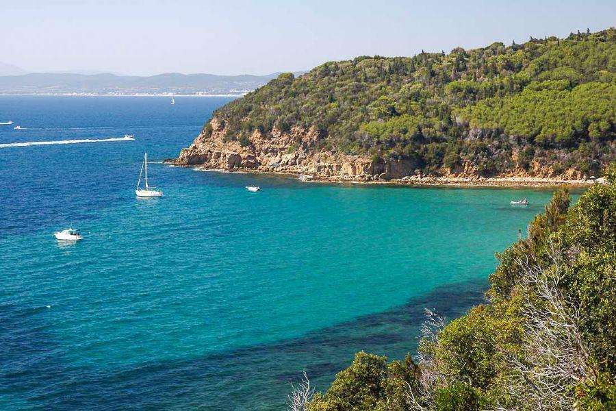 Punta Ala: Coast