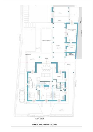 Villa Monroe : planimetry