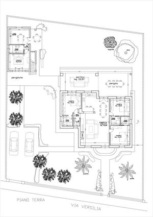 Villa Phoenix : Planimetria