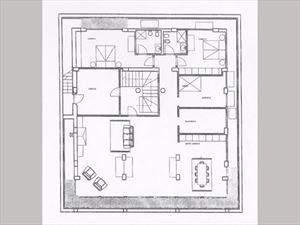 Villa Cavour : planimetry