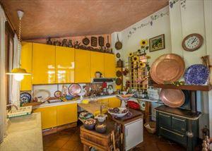 Villa Castiglioncello : Кухня
