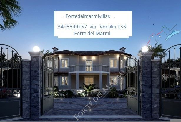 Vila Carducci  Forte  - Detached villa For Sale Forte dei Marmi