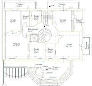 Villa Luxe 2  : Planimetria