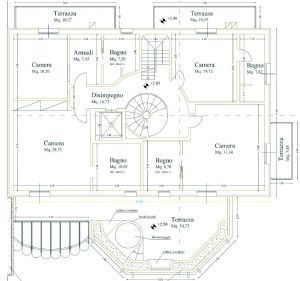 Villa Luxe 2  : planimetry