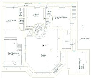 Villa Luxe 2  : планиметрия