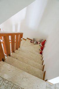 Villa Bixio : Marble stairs