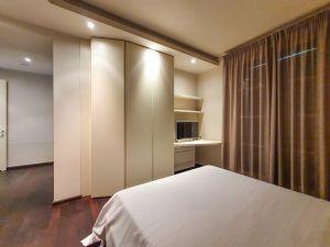 Villa Patrizia : спальня с двуспальной кроватью