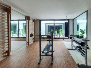 Villa Patrizia : Фитнес зона