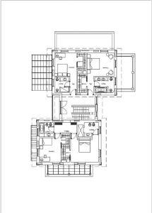 Villa Cimabue : Planimetria