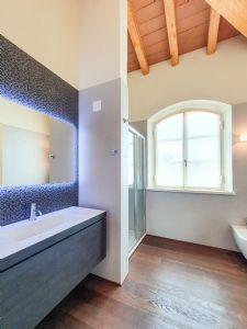 Villa Modigliani : Bagno con doccia