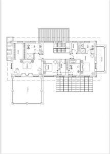 Villa Bernini : Planimetria