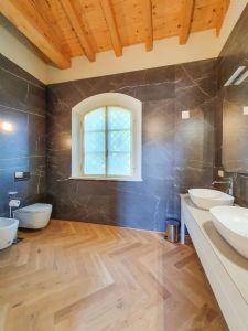 Villa Bernini : Bagno con doccia