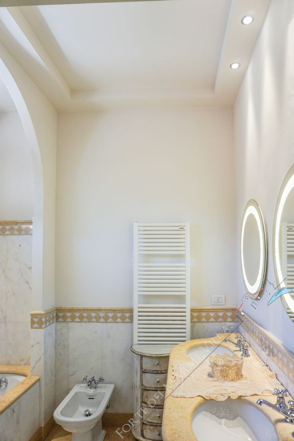 Villa Ostras : Bathroom with tube