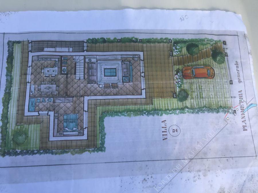 Villa Grey : Planimetria