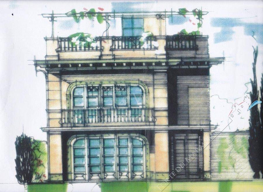 Villa Grey : Rendering