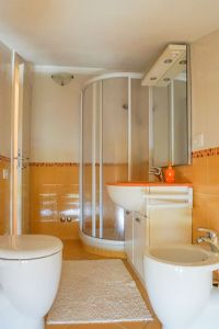 Villa Filomena : Bathroom with shower