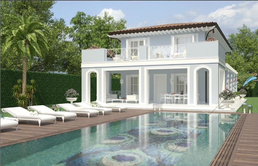 Villa Nikki detached villa for sale Forte dei Marmi