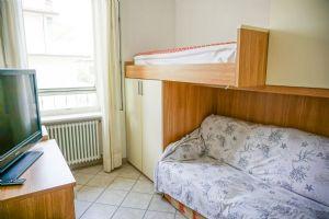 Appartamento Riccardo : спальня с односпальной кроватью