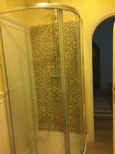 Ville del Borgo : Bathroom with shower
