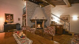 Villa Degli Aranci Lucca : Камин