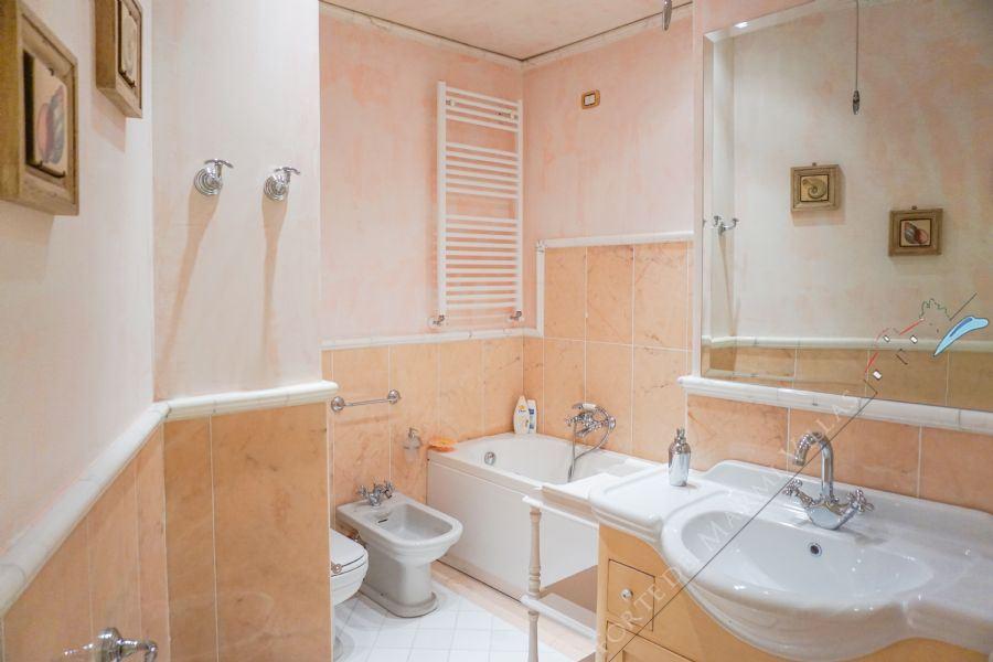 Appartamento Margherita : Bagno con vasca