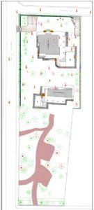 Villa Almarosa : planimetry