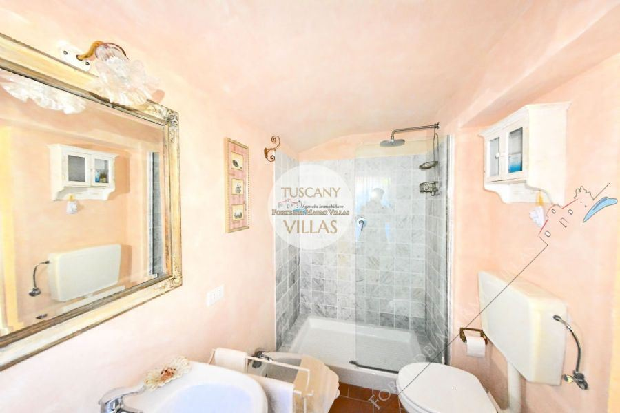 Villa Datcha : Bagno con doccia