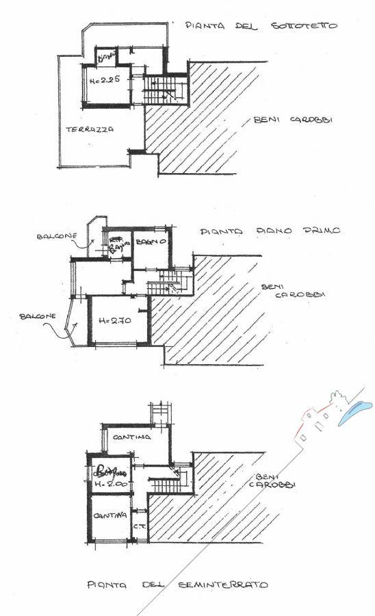 Villa Zen : planimetry