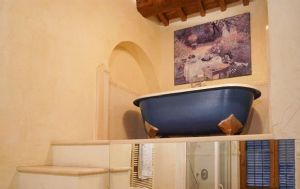 Rustico del Mare : Bathroom with tube