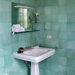Villa Massaciuccoli : Ванная комната с ванной