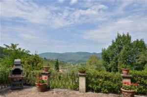Villa Chiantigiana : Terrace