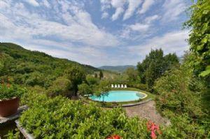 Villa Chiantigiana : Терраса