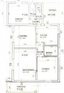 Villa Ila : planimetry