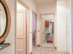 Appartamento Seven Apple : Bagno con doccia