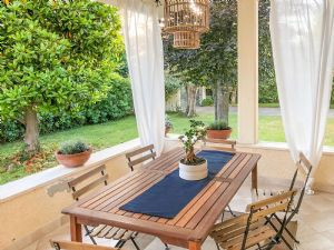 Villa Shanti : Veranda