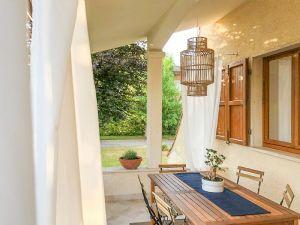 Villa Shanti : Веранда