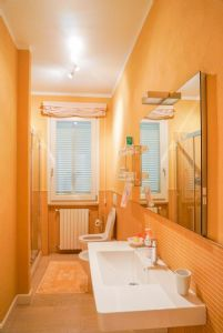 Villa Reggio : Bathroom with shower