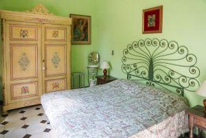 Villa Liberty Lido : спальня с двуспальной кроватью