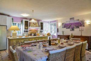 Villa Campagna di Camaiore : Dining room