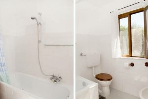 Casale Montemagno : Bathroom with shower
