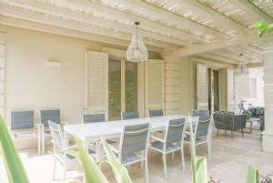 Villa Lina : Veranda