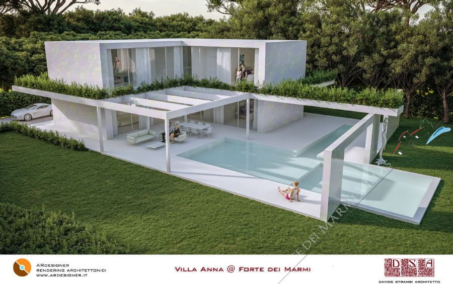 Villa light Roma Imperiale  Detached villa  for sale  Forte dei Marmi