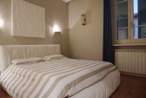 Appartamento Rigoletto : спальня с двуспальной кроватью