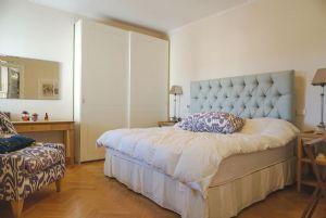 Appartamento Fidelio : спальня с двуспальной кроватью