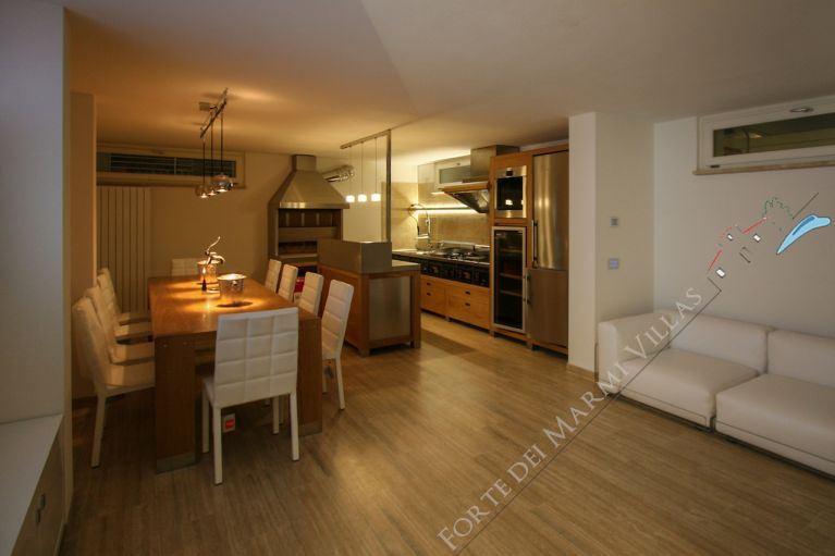 Villa Cristallo Lido : Dining room