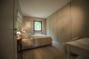 Villa Sunset : спальня с односпальной кроватью
