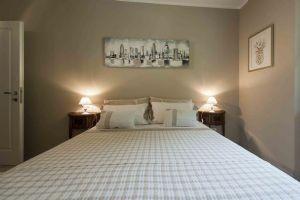 Villa Sunset : спальня с двуспальной кроватью